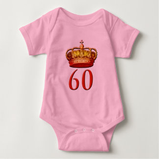 Royal Coronet and 60 for the Diamond Jubilee Baby Bodysuit