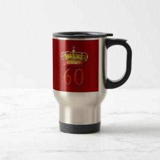 Royal Coronet and 60 for the Diamond Jubilee Travel Mug