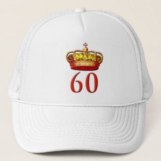 Royal Coronet and 60 for the Diamond Jubilee Trucker Hat