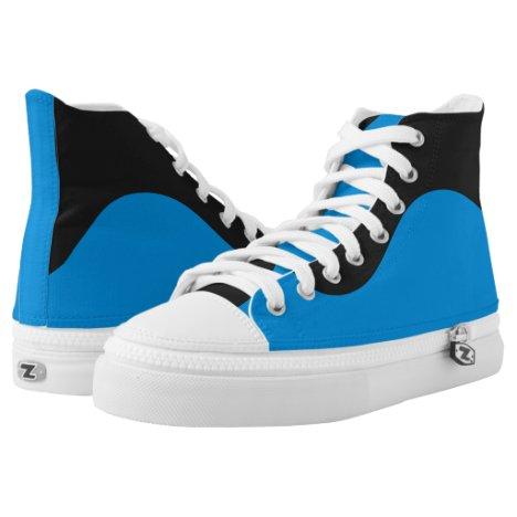 Royal Cougar Wave II Designer Hi-Top Sneakers