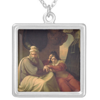 Royal couple mourning for their dead daughter personalized necklace