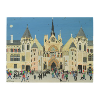 Royal Courts of Justice London 1994 Wood Wall Decor