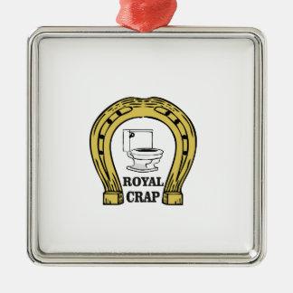 royal crap load metal ornament