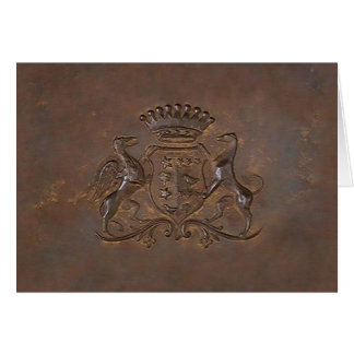 Royal Crest ~ Card Fathers Day Dad Brother