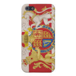 Royal Crest on Union Jack Flag Case For iPhone 5