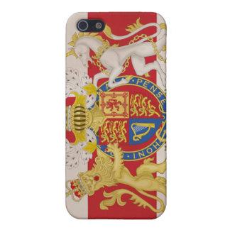 Royal Crest on Union Jack Flag Case For iPhone SE/5/5s