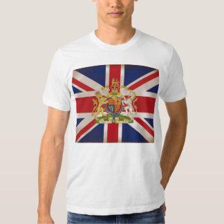Royal Crest on Union Jack T Shirt