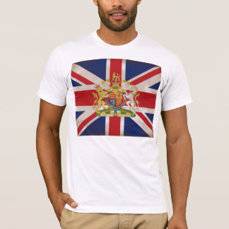 Royal Crest on Union Jack T-Shirt