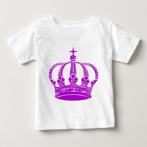 Royal Crown 02 - Purple T-shirts