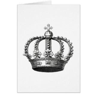 Royal Crown A Greeting Card