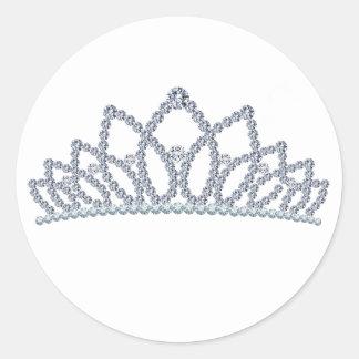 Royal Crown Classic Round Sticker
