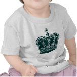 Royal Crown - Dark Green Tee Shirts