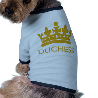 Royal Crown Duchess Gold Range Hikingduck Pet Clothes