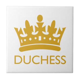 Royal Crown Duchess Gold Range Hikingduck Small Square Tile