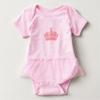Royal Crown Girls Pink Princess Baby Tutu Bodysuit