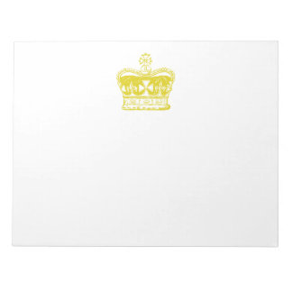 Royal Crown Graphic Notepad