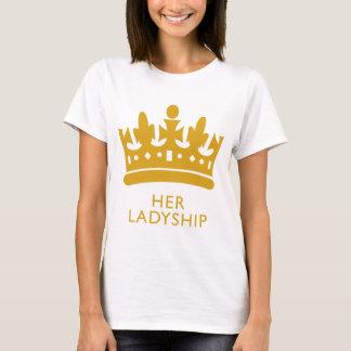 Royal Crown Her Ladyship Gold Range Hikingduck T-Shirt