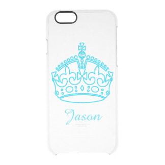 Royal Crown Uncommon Clearly™ Deflector iPhone 6 Case
