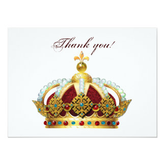 Royal Crown Jeweled Invite