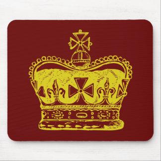 Royal Crown Mouse Pad