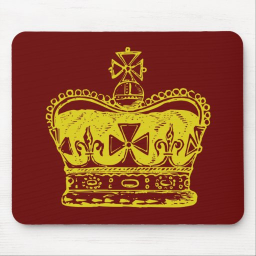 Royal Crown Mouse Pad