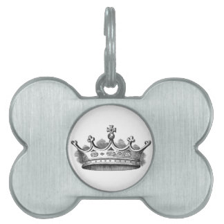Royal Crown Pet Name Tags