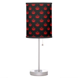 Royal Crown Red Desk Lamp