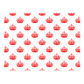 Royal Crown Red Postcard