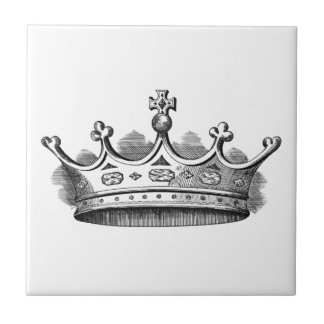 Royal Crown Small Square Tile