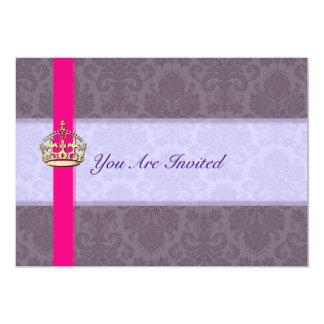 Royal Crown Wedding Invitations