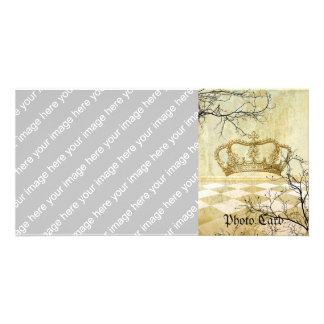 Royal Crown with Branches Card