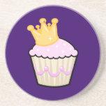 Royal Cupcake Coaster