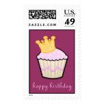 Royal Cupcake Postage Stamps (LARGE)