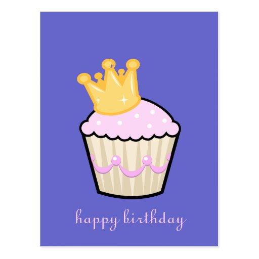 Royal Cupcake Postcard