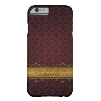 Royal Damask iPhone 6 Custom Monogram Case