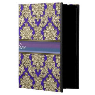Royal Damask Personalized iPad Air Case