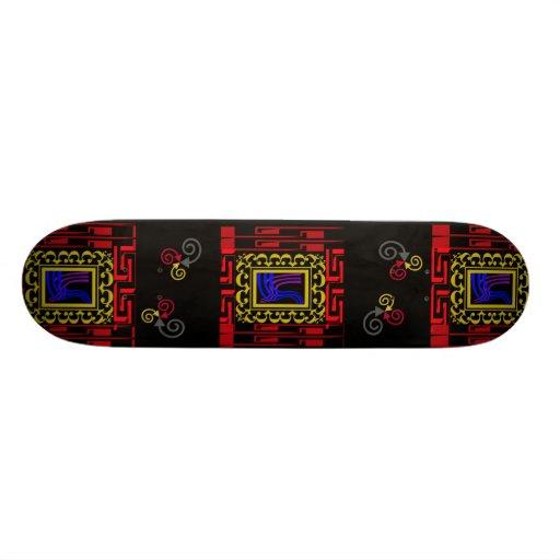 Royal dimensions custom skateboard