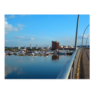 Royal Docklands, East London, England Postcard