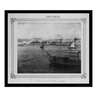 Royal Dolmabahce Palace Istanbul 1885 Poster