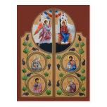 Royal Doors Prayer Card Postcard