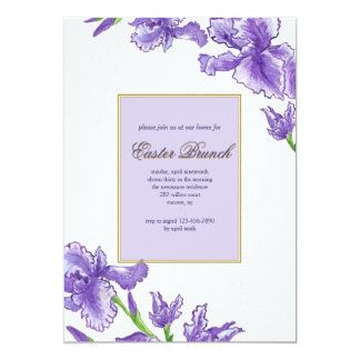 Royal Easter Invitation