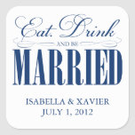 Royal Eat, Drink & Be Married | Stickers
