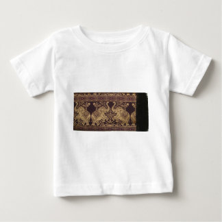 ROYAL ELEPHANT INDIAN INTRICATE SILK ARTWORK BABY T-Shirt