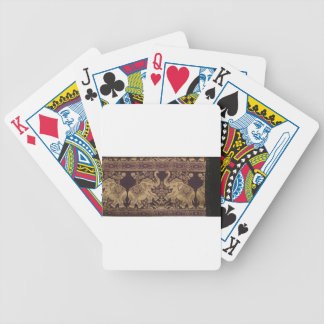 ROYAL ELEPHANT INDIAN INTRICATE SILK ARTWORK BICYCLE PLAYING CARDS