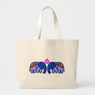 Royal Elephent Art Tote Bag