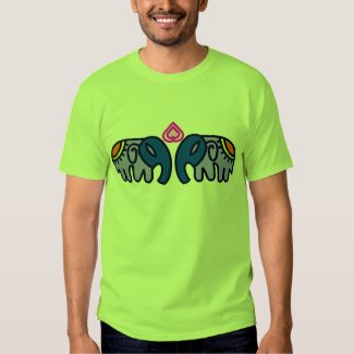 Royal Elephent Art T-shirt