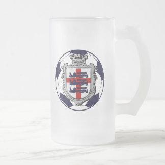 Royal England Soccer ball England flag gifts Coffee Mugs