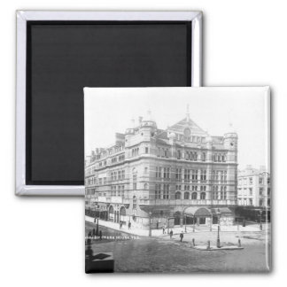 Royal English Opera House, 1891 2 Inch Square Magnet