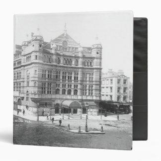 Royal English Opera House, 1891 3 Ring Binder