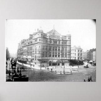 Royal English Opera House, 1891 Poster